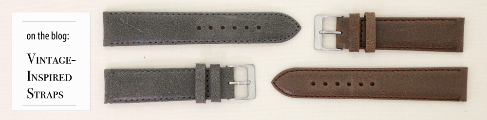 Vintage Inspired Tech Swiss Watch Bands